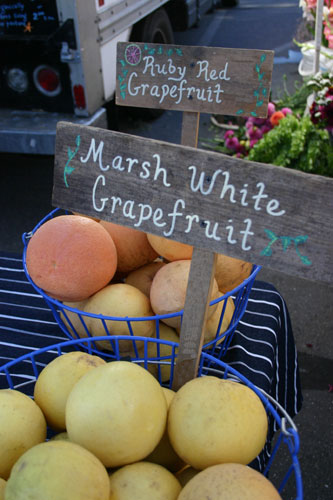 Grapefruit at Farmers Market
