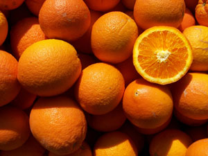 Delicious Sweet Navel Oranges