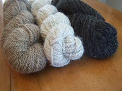 Chaffin Orchards Un-dyed Yarn