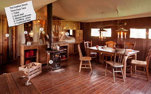Featherdown Farmstay at Chaffin Orchards